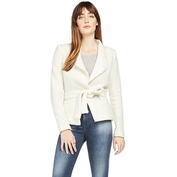 IRO Paris Iquitos Jacket / White